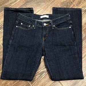 Levi's Low Boot Cut 545 Jeans Size 4 Medium